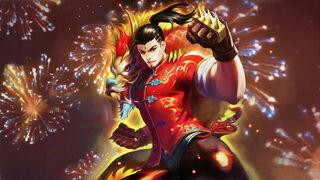 Chou Dragon Wall