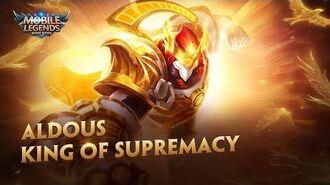 Aldous New Skin King of Supremacy Mobile Legends Bang Bang