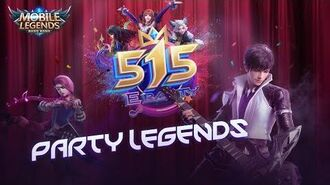 Party Legends 515 eParty Music Video Mobile Legends Bang Bang!