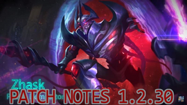 Patch Notes 1.2.30