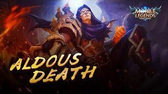 Aldous New Skin Death Mobile Legends Bang Bang!