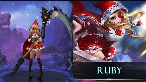 Mobile Legends Bang Bang Ruby, the Little Red!