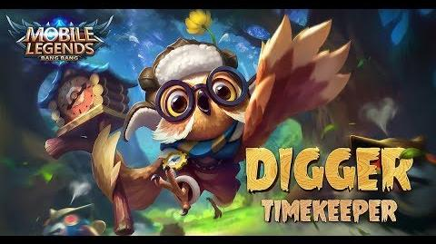 Mobile Legends- Bang Bang! New Hero -Timekeeper- Diggie