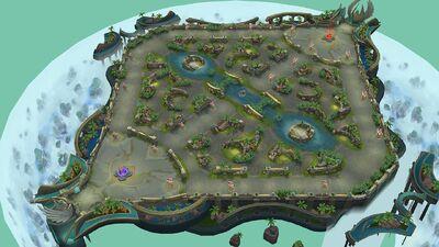 Celestial Palace Map