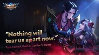 """""""Nothing will tear us apart now"""" New Hero Cecilion Trailer Mobile Legends Bang Bang!"""