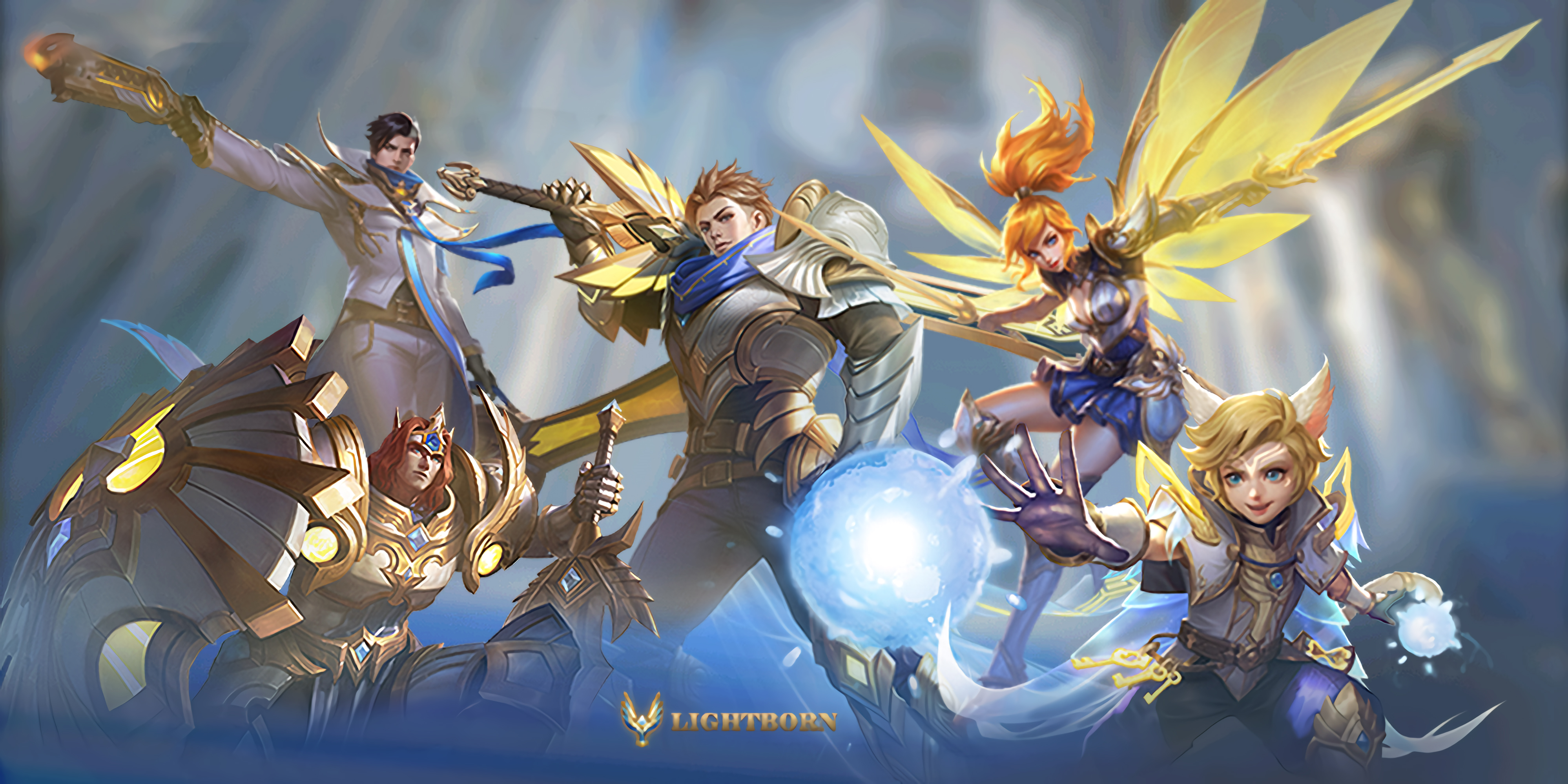 Lightborn Squad Mobile Legends Wiki