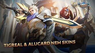 Tigreal & Alucard New Skins Lightborn—Defender & Lightborn—Striker Mobile Legends Bang Bang!