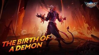 The Birth of a Demon New Hero Dyrroth Trailer Mobile Legends Bang Bang!