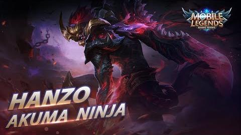 New Hero Akuma Ninja Hanzo Mobile Legends Bang Bang!