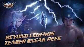 Beyond Legends Project NEXT Cinematic Teaser Trailer Mobile Legends Bang Bang