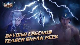 Beyond Legends Project NEXT Cinematic Teaser Trailer Mobile Legends Bang Bang