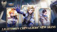Granger & Harith & Fanny New Skins Lightborn Chevaliers Mobile Legends Bang Bang!