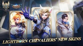 Granger & Harith & Fanny New Skins Lightborn Chevaliers Mobile Legends Bang Bang!