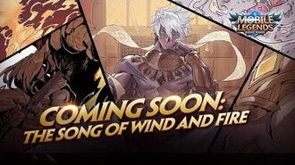 The Song of Wind and Fire New Hero Vale Trailer Mobile Legends Bang Bang!