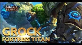 Mobile Legends Bang bang! New Hero Fortress Titan Grock Gameplay