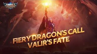 Valir New Skin Draconic Flame Cinematic Trailer Dragon Tamer Mobile Legends Bang Bang
