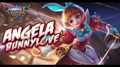 Mobile Legends Bang Bang! New Hero Bunnylove Angela Gameplay