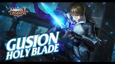 Mobile Legends- Bang Bang! New Hero -Holy Blade- Gusion Gameplay