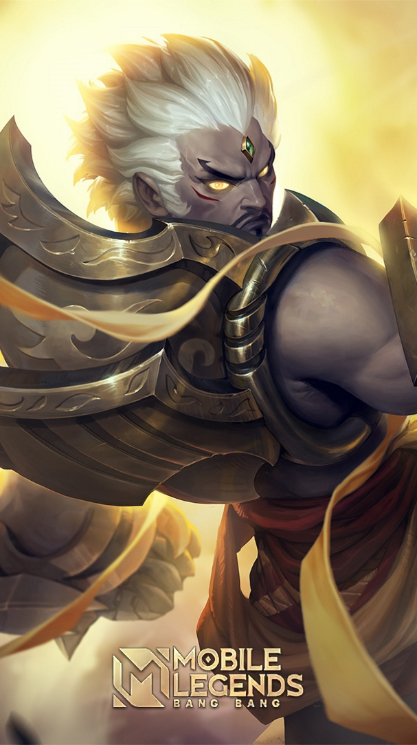 Wallpaper Hero Mobile Legend Gatotkaca