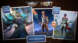 Project NEXT Skin Revamp & Hero Display Screen Project NEXT Express 5 Mobile Legends Bang Bang