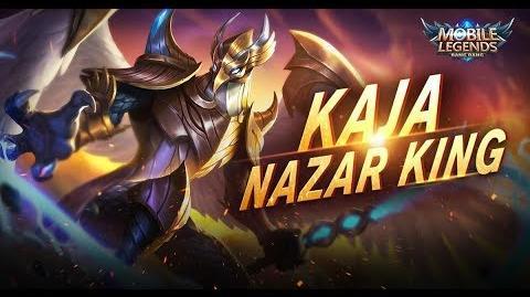Mobile Legends- Bang Bang! New Hero - Nazar King - Kaja