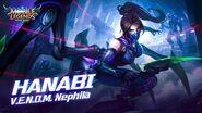 Hanabi new skin V.E.N.O.M
