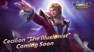 CECILION New Skin THE ILLUSIONIST Mobile Legends Bang Bang