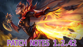 Patch notes 1.2.42