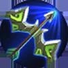 Iron hunting bow