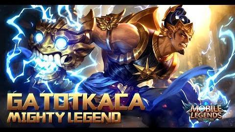 Mobile Legends- Bang bang! New Hero -Mighty Legend Gatotkaca- Gameplay