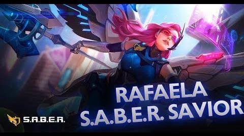 Mobile Legends Bang Bang! Rafaela New Skin S.A.B.E.R. Savior