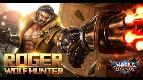 Mobile Legends- Bang bang! New HeroMobile Legends- Bang bang! -Dire Wolf Hunter - Roger- Gameplay