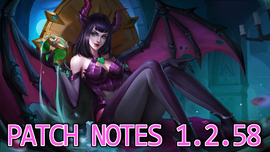 Patch notes 1.2.58
