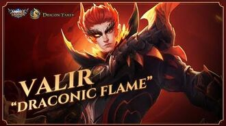 Valir Dragon Tamer Series New Skin Draconic Flame Mobile Legends Bang Bang-1