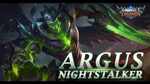 Mobile Legends- Bang bang! New Hero -Nightstalker Argus- Gamep