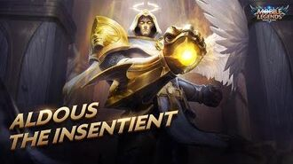 Aldous new skin The Insentient Mobile Legends Bang Bang!