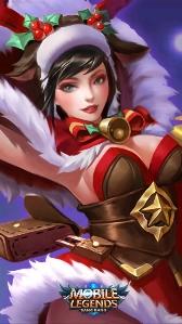 Image Christmas Cheer Miya Jpg Mobile Legends Wiki Fandom