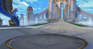 Entrance Background - Imperial Sanctuary