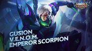 Gusion new skin V.E.N.O.M