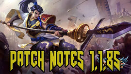 Patch Notes 1.1.85