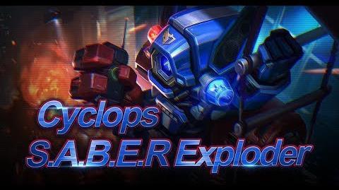 Mobile Legends Bang Bang! Cyclops New Skin S.A.B.E.R. Exploder