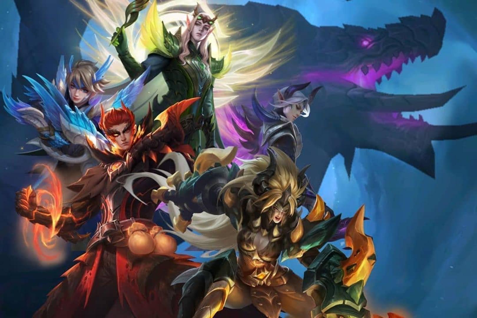 Dragon Tamer Squad Mobile Legends Wiki Fandom