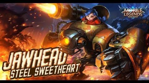 Mobile Legends- Bang Bang! New Hero -Steel Sweetheart - Jawhead- Gameplay