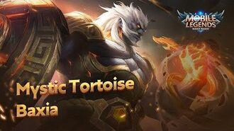 New Hero Mystic Tortoise Baxia Mobile Legends Bang Bang!
