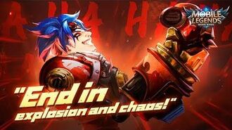 End in explosion and chaos New Hero X.Borg Trailer Mobile Legends Bang Bang!