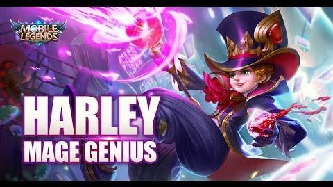 Mobile Legends Bang bang! New Hero Mage Genius Harley Gameplay