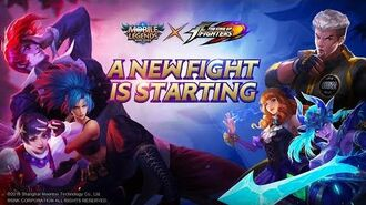 A New Fight Is Starting MLBB x KOF Collaboration Trailer Mobile Legends Bang Bang!