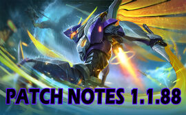 Patch Notes 1.1.88