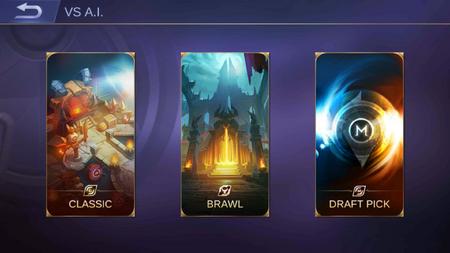 Game Mode Choices