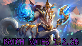 Patch Notes 1.2.26